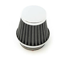 Chrome Air Filter Pod - 50mm - Honda Motorcycle CB350 CB360 CB450 CB500T CB750