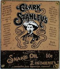 Clark Stanley's Snake Oil Liniment Porcelain Sign