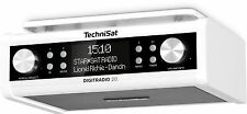TechniSat Digitradio 20 White Under Unit/Cabinet Kitchen DAB+ VHF Digital Radio