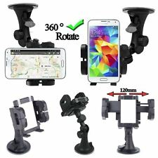 Universal in Car For Mobile Phone Sat Nav PDA GPS Holder Locking Suction Mount