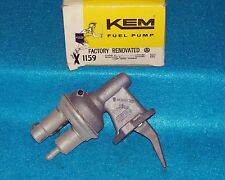 "1976 1982 Ford Mercury 4cyl 200"" 140"" KEM Factory Rebuilt Fuel Pump 1159"