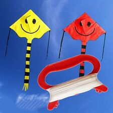 Children 100m Line String With D Shape Winder Handle Board For Flying Kite Tool