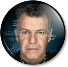 "Fringe Walter Bishop 25mm 1"" Pin Button Badge TV Series Walternate John Noble"