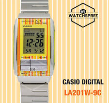 Casio Futurist Digital Ladies Watch LA201W-9C