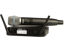 Shure GLXD24B87A Handheld Wireless Consumer Microphone