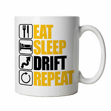 Eat Sleep Drift Repeat Mug - JDM Drift Car S14 S15 AE86 BDC