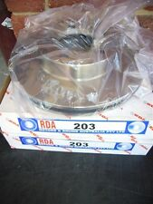 CL & CM  VALIANT PAIR OF FRONT BRAKE DISC ROTORS .NEW