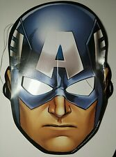 Avengers Captain America Card Party Face . Mask - MARVEL