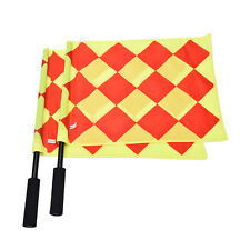 Soccer Referee Flag Fair Play Sports Match Linesman Flags Referee+Carry Bag TBUS
