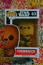 Star Wars Episode VII The Force Awakens Chewbacca #63 Pop! Vinyl Bobble Head