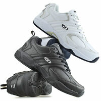 Mens Hi Tec Argon Casual Leather Walking Running Gym Sports Trainers Shoes Size