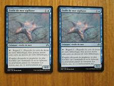 x2 Cartes Magic MTG Etoile de mer sigillaire VF (Magic Origines)