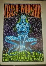 Frank Kozik Crash Worship 94-16 #129 signed poster show silkscreen print