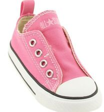 Converse Infants Pink Stick Closure All Star Classic Sneakers Little Girls SZ 10