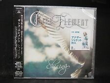 CINQ ELEMENT Shining JAPAN CD Head Phones President Lacuna Coil