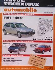 NEUF Revue technique FIAT TIPO 1.1 1.4 1.6DGT RTA 504 1989 ESPACE GOLF 16S JETTA