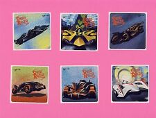 12 Foil Speed Racer - Large Stickers - Party Favors - Rewards