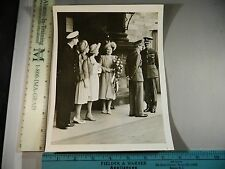 Rare Historical Original VTG 1947 Royal Family Mountbatten Visit Edinburgh Photo