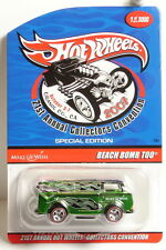 Hot Wheels 2007 21st Collectors Convention, BEACH BOMB TOO - only 3000 made