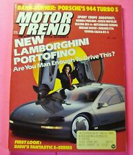 MOTOR TREND MAGAZINE MAY/1988..FIRST LOOK: BMW's FANTASTIC 5-SERIES