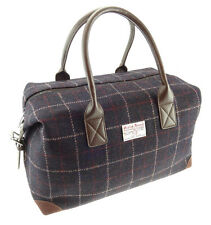 Harris Tweed Holdall Navy Check LB1006 COL 39