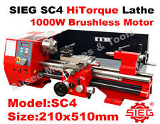 SIEG SC4 210x510mm HiTorque Bench Lathe Super C4 (Coming in late May)