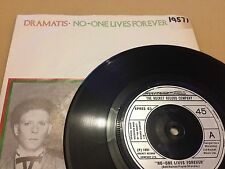 "Dramatis, No-One Lives Forever, 1981, XPRES 63, Vinyl, 7"", Single EX+"