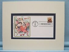 Honoring Cupid & Valentine's Day & First Day Cover of the Cupid Love Stamp