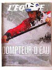 L'Equipe Magazine du 17/08/2002; Entretien Tony Estanguet le dompteur d'eau