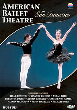 ABT In San Francisco / American Ballet Theatre *New DVD*