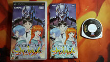 SECRET D'EVANGELION VERSION SONY PSP JAP ENVOI 24/48H