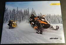 2014 SKI-DOO SNOWMOBILE SALES & ACCESSORIES BROCHURE 44 PAGES NICE  (212)
