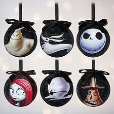 Disney Nightmare Before Christmas Ornament Set Jack Skellington NIB