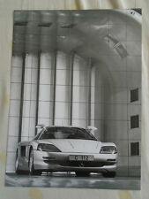 Mercedes C112 car press photo brochure 1991 ref  91 748/1