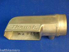 VINTAGE NOS THRUSH OUTSIDERS RIGHT SIDE EXHAUST TIP HOT ROD RAT ROD CUSTOM