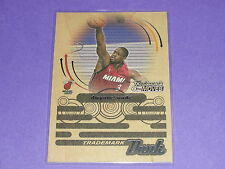 2006-07 Topps Trademark Moves DWYANE WADE Hardwood Dunk/75 Miami HEAT Marquette