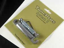 Tone Pros System II T1ZS Locking US Tailpiece Chrome T1ZSC