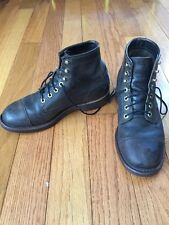 Chippewa Cordovan Boots, LL Bean Katahdin Iron Work Engineer Boots Size 7.5D