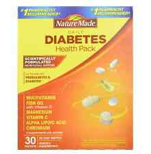 Nature Made Daily Diabetes Health Pack 30 Each