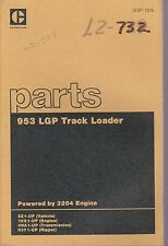Caterpillar Cat 953 LGP Track Loaders Parts Manual