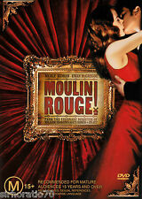 MOULIN ROUGE DVD  R4 New Nicole Kidman / Ewan McGregor