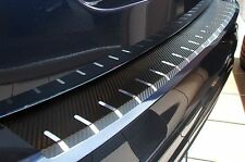 Carbon Chrome Style rear bumper protector Vauxhall Astra H Estate Carbon Film