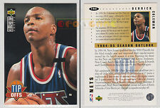 NBA UPPER DECK 1994 COLLECTOR'S CHOICE - Derrick Coleman #182 - Ita/Eng - MINT