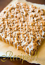 "☆Iced Pumpkin Coffee Cake ""RECIPE""!☆Incredibly Moist and Flavorful !☆"