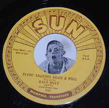 Rockabilly 45~BILLY LEE RILEY~Flyin' Saucers Rock & Roll / I Want You~Sun Repro