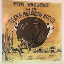 TIM TISDALE AND THE TEXAS REUNION BAND self-titled PRIVATE COUNTRY LP SEALED