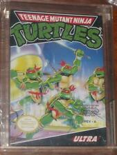 VINTAGE NINTENDO NINJA TURTLES VIDEO GAME VGA GRADED 90 NM+/MT H-SEAM WHITE SEAL