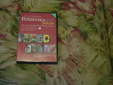 Encyclopaedia Britannica 2005 Deluxe  (CD, 2005) 3 CD Set, World of Knowledge