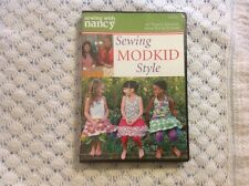 Sewing With Nancy: Sewing Modkid Style On DVD~Brand New