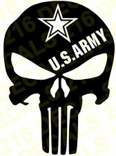PUNISHER Car Truck Window Vinyl Decal Sticker Military Police Army Navy Marines